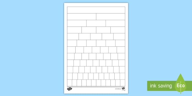 Blank Fraction Wall Sheet - fractions, numeracy, maths, display