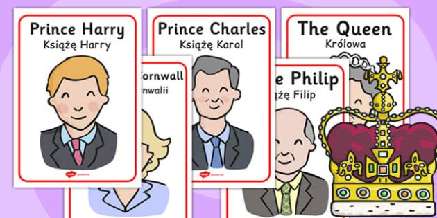 The Royal Family Posters Polish Translation - polish, royal family, posters, display