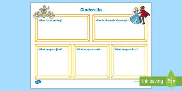 Cinderella Writing Frames and Worksheets Primary Page 1 – Cinderella Worksheets