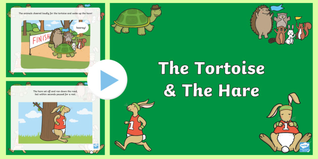 the tortoise and the hare powerpoint stories story books