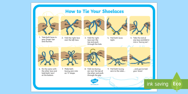 How to tie shoelaces shoelaces tie learn fine motor how to tie shoelaces shoelaces tie learn fine motor skills ccuart Images