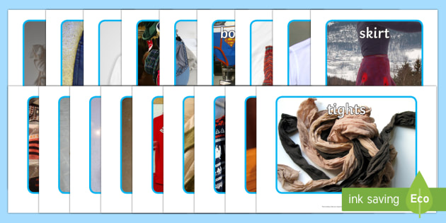 Clothing Display Photos - Display Posters, Clothing, clothes, A4, display, clothes pictures, tshirt, jeans, shorts, dress, cloves, hat
