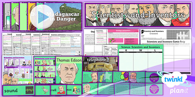 Science: Scientists and Inventors Year 4 Unit Pack