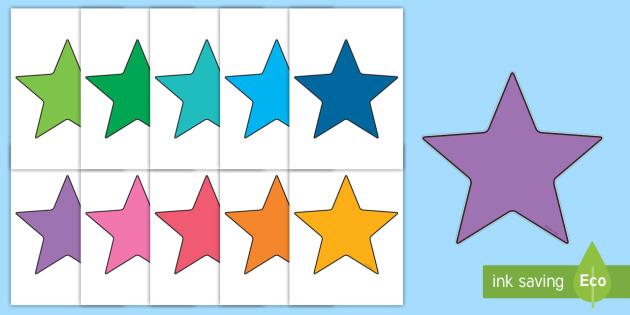 Editable Stars, Star, Stars, Editable