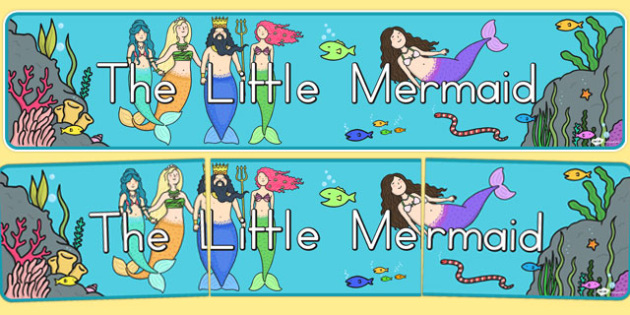 The Little Mermaid Display Banner - australia, little mermaid, display