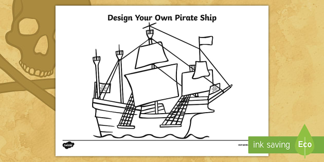 Excellent Design You Own Pirate Ship Worksheet Activity Sheet Galleon Wiring 101 Cominwise Assnl