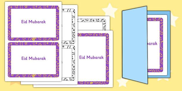 Eid Card Inserts - eid, card, insert, eid card insert, card insert