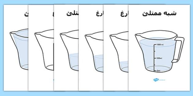 ملصقات عرض السعات - السعات، أحجام، موارد، رياضيات، وسائل تعليمية