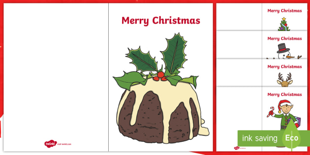 Christmas Card Template.Christmas Card Templates