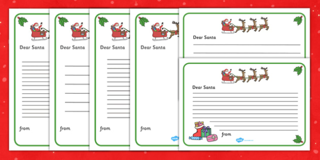 Letter to santa christmas xmas letter santa present letter to santa christmas xmas letter santa present father christmas pronofoot35fo Gallery