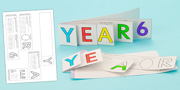 Year 6 Write Up Booklet - End of Year 6 Booklet