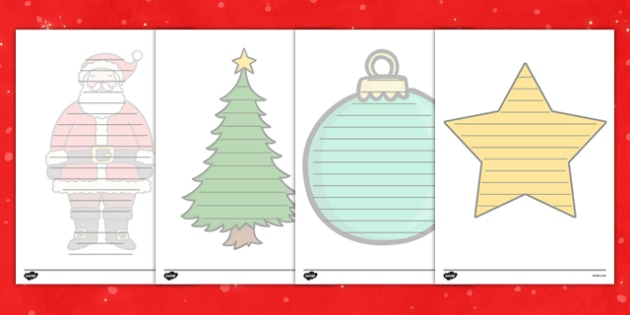 Christmas Shape Poetry - Christmas, xmas, Happy Christmas, tree, advent, shape, poetry, poem, rhyme, nativity, santa, father christmas, Jesus, tree, stocking, present, activity, cracker, angel, snowman, advent