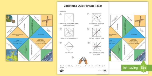 FREE! - * NEW * Saint Andrew's Day Quiz Fortune Teller