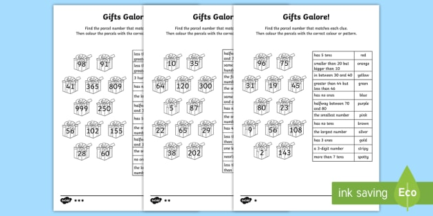 place value number clues homework worksheet activity sheets year 2. Black Bedroom Furniture Sets. Home Design Ideas