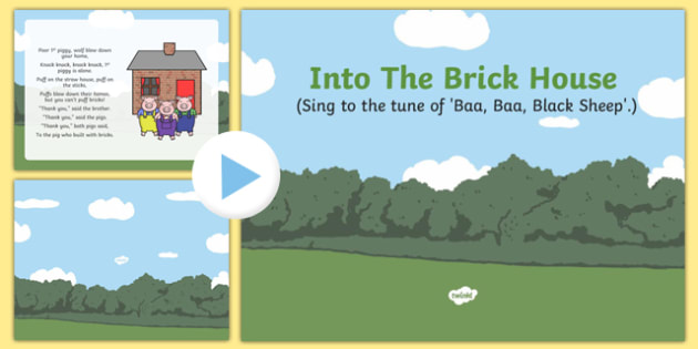 Into The Brick House Song PowerPoint