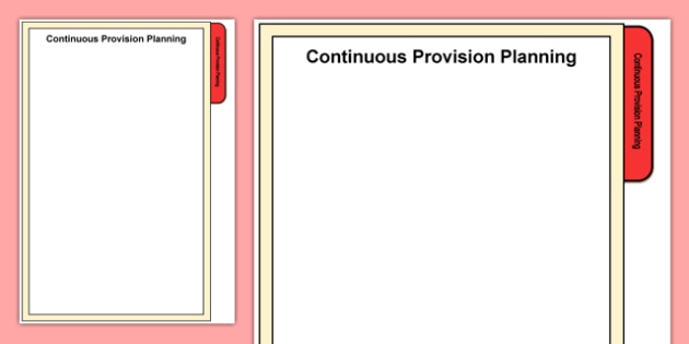 Foundation Phase Continuous Provision Planning Tab A4 Display Poster-Welsh