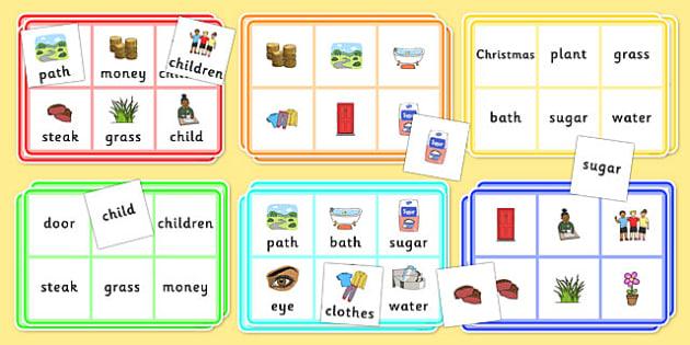 Year 2 Common Exception Words Bingo - year 2, common exception words, bingo, activity, high, frequency, reading