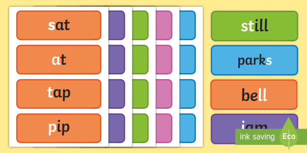 Words With Grapheme Examples Phases 2 6 Cards Phonemes