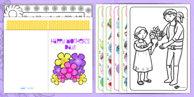 Australia Childminder Mother's Day Resource Pack