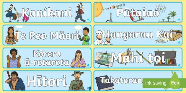 Ngā Kaupapa - Pāngarau, maths, pūtaiao, science, technology, hangarau, kai, food, hangarau whakaaturanga, inform