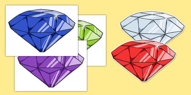 Display Gemstones - gems, gemstones, treasure, pirates, diamonds, cyrstals, precious, stones