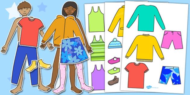 Colour Dress Up Dolls - dress up, dolls, colours, dress up games