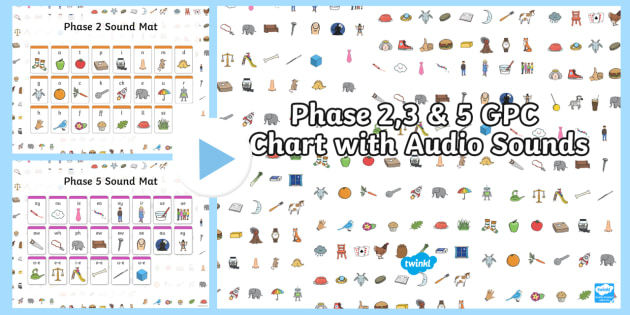 Phase   And  Gpc Chart With Audio Sounds Powerpoint