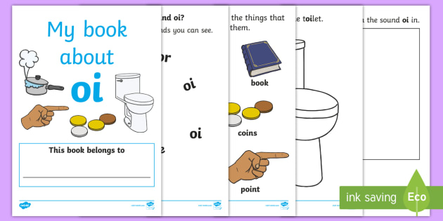 My Phase 3 Digraph Workbook (oi) - Digraph Formation, Phase 3, phase three, digraphs, handwriting, letter formation, writing practice, foundation, letters, writing, learning to write, DFES letters and sounds