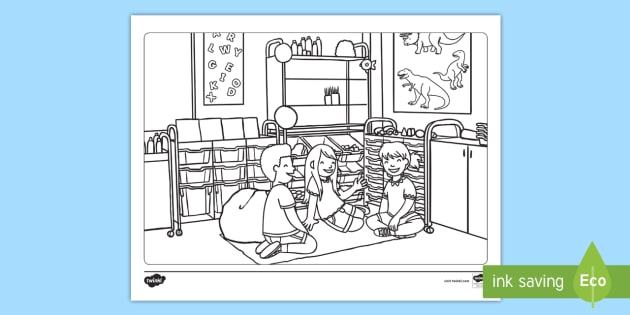 - First Day Of Kindergarten Coloring Page - First Day Of School, Kindergarten