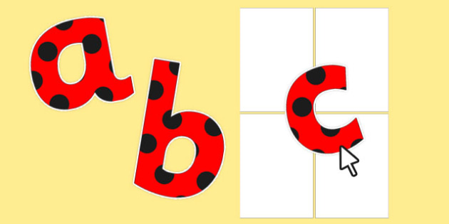 Editable Paper Saving Red with Black Spots Numbers and Symbols