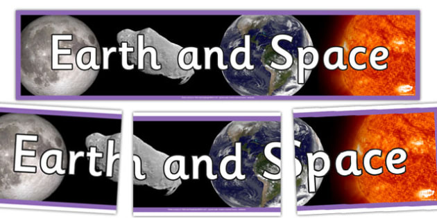 Earth and Space Photo Display Banner - earth and space, photo display banner, display banner, banner, photo banner, header, display header, photo header