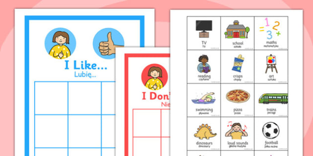 All About Me Polish Translation - polish, all about me, me, eal