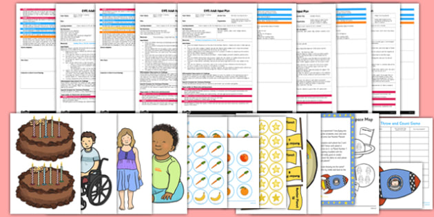 EYFS Maths: Counts Objects to 10 EYFS Adult Input Planning and Resource Pack - counts, objects, 10, eyfs, adult input, plan