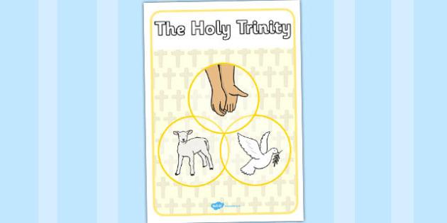 Holy Trinity Display Poster - holy trinity, display, poster