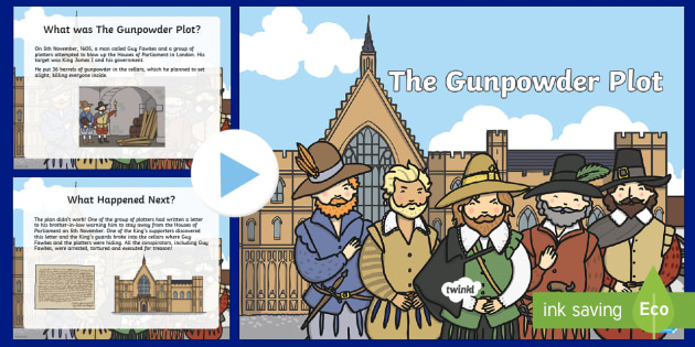 KS2 The Gunpowder Plot PowerPoint
