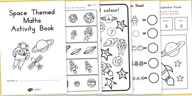 Themed KS1 Maths Activity Book - australia, ks1, maths