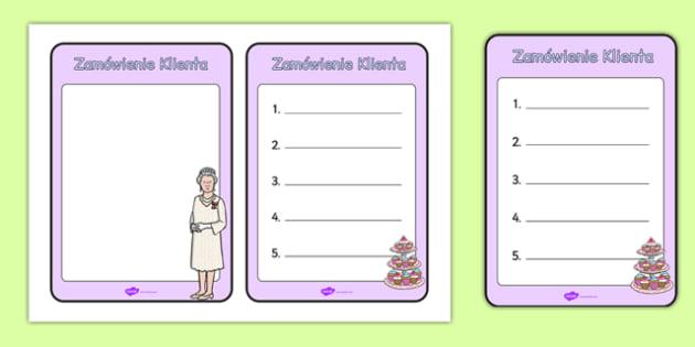 Odgrywanie Ról Herbatka u Królowej zamówienie po polsku