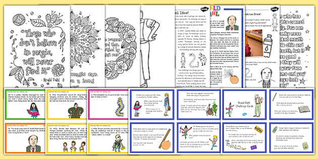 Roald Dahl Day  Activity Pack