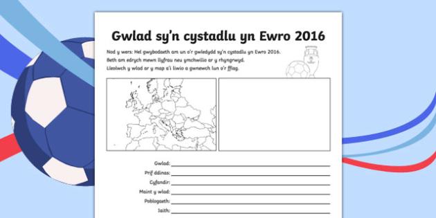 Ffeil ffeithiau gwlad sy'n cystadlu yn Ewro 2016 - welsh, cymraeg, ffeil ffeithiau, gwlad, gwledydd, ewro 2016, ewro