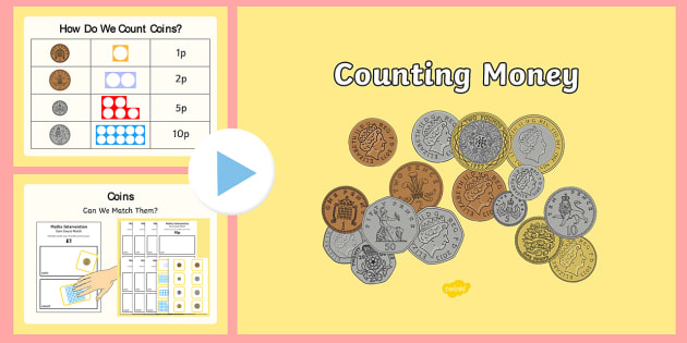 maths intervention counting money powerpoint and worksheet. Black Bedroom Furniture Sets. Home Design Ideas