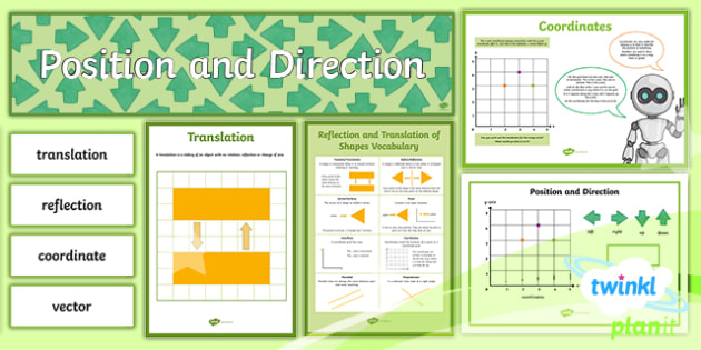 PlanIt Maths Y5 Position and Direction Display Pack
