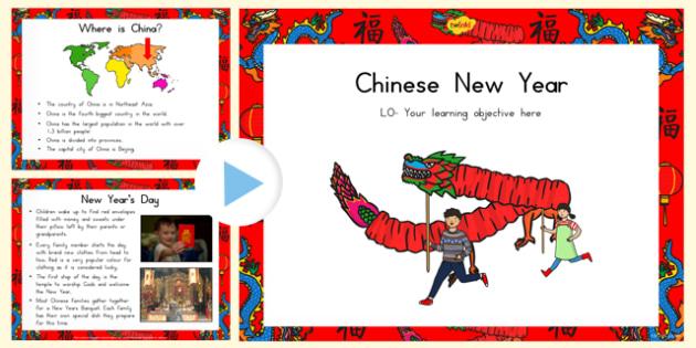 Chinese New Year Information PowerPoint - australia, information