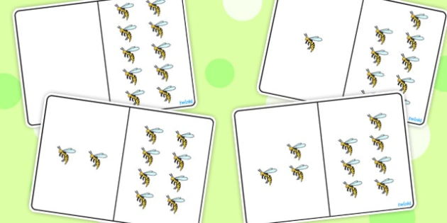 Wasp Counting Number Bonds to 10 - number, bonds, counting, 10