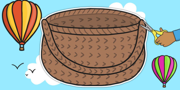 Large Basket Cut Outs - baskets, display, cut outs, basket, wall