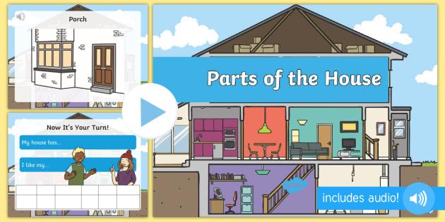 Le Stanze Della Casa In Inglese Presentazione Powerpoint Presentazione