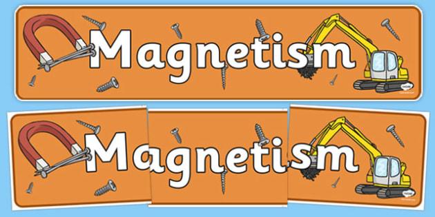 Magnetism Display Banner NZ - nz, new zealand, magnetism, display banner, display, banner