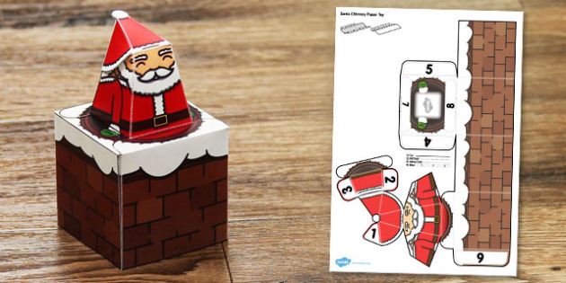 Display Chimney Paper Model - display, chimney, paper model, paper craft