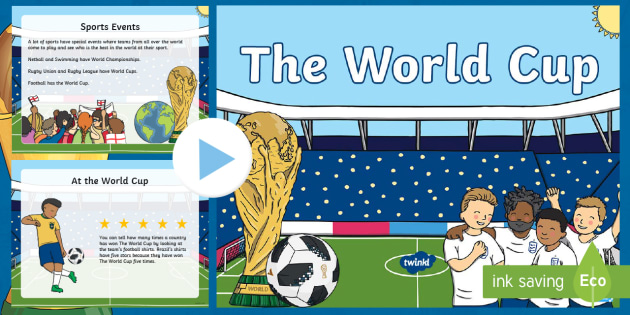 bdb391d1d KS1 The World Cup Information PowerPoint - Russia