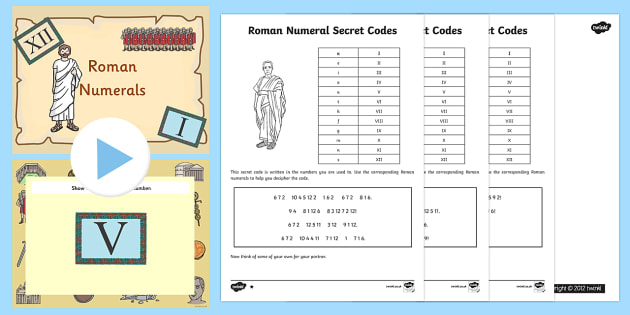 Daily Roman Numerals Worksheet | Worksheets, Roman and Maths