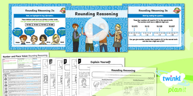 PlanIt Maths YY6 Number and Place Value Lesson Pack Rounding Numbers (3)